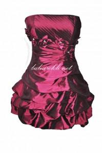 къса бална рокля тафта