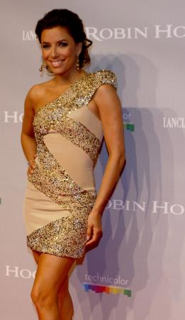 златна рокля с бяло