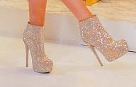 Блестящи Бални Обувки 2013