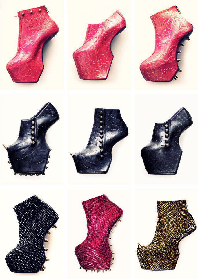 екстравагантни обувки лейди гага