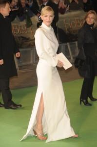 Кейт Бланшет с Красиви Официални Сандали на Висок Ток