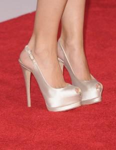 Вечерни Бални Обувки в Бяло