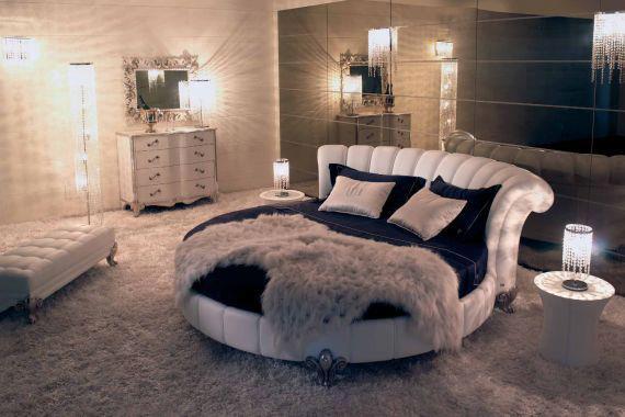 Елегантна и Уютна Кръгла Спалня