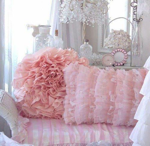 Розови декорации за Спалня