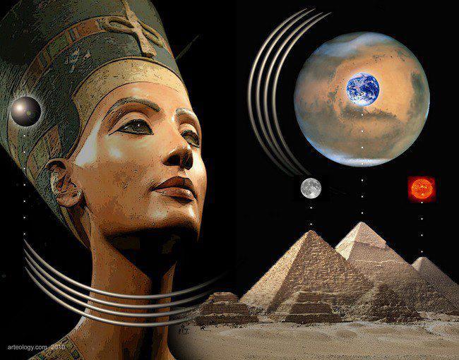 Египетската принцеса Нефертити