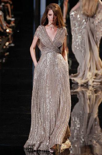бална дълга сребриста рокля