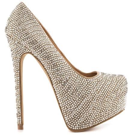 бални обувки с висок ток