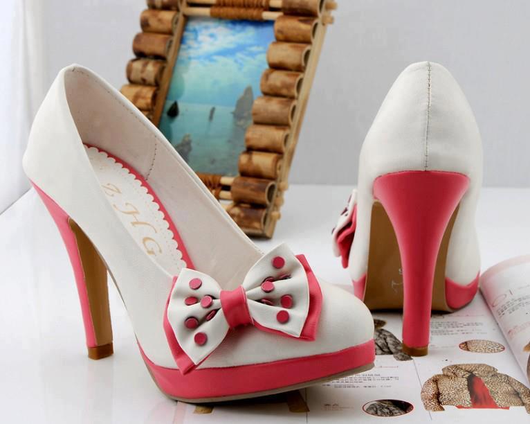 обувки с панделка