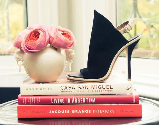 елегантни високи обувки