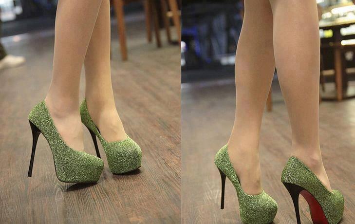 бални обувки кристали