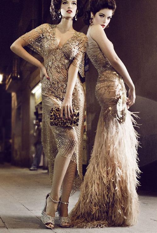 вечерни рокли в ретро стил