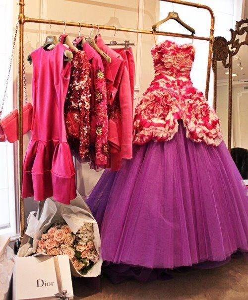 лилава бална рокля принцеса