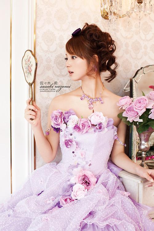 романтична рокля с рози
