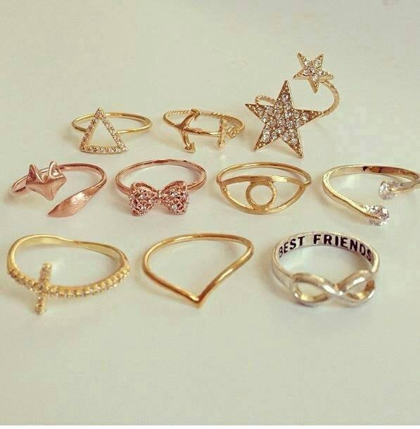 златни пръстени