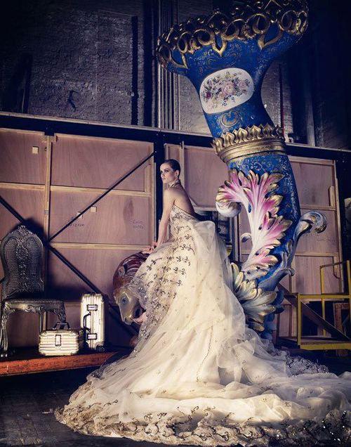 бална рокля цвят шампанско