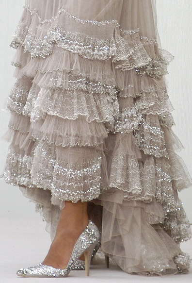 бална рокля детайл