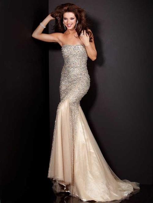 секси бална рокля