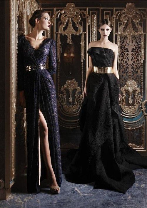 черни официални рокли