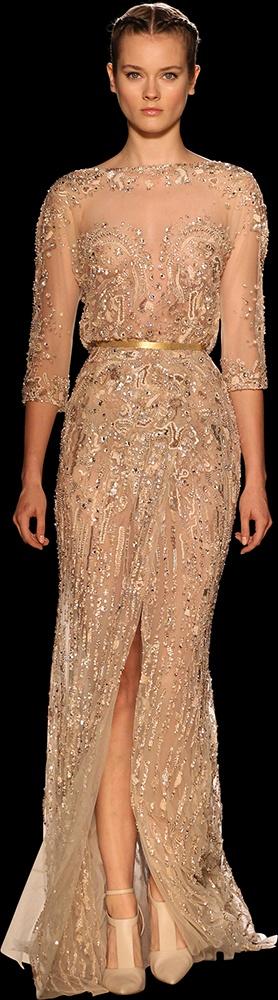 бална златиста рокля