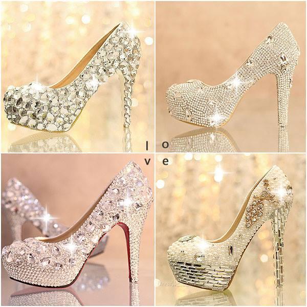 кристални обувки