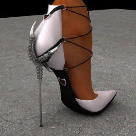 елегантни обувки на ултрависок и тънък ток