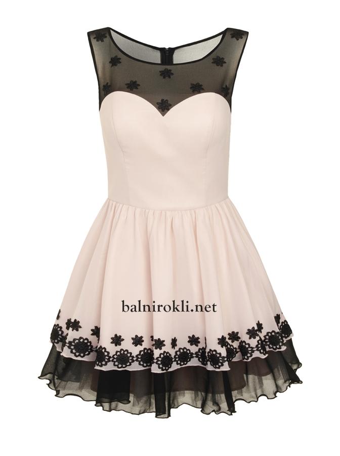 елегантна къса официална рокля балнирокли.нет