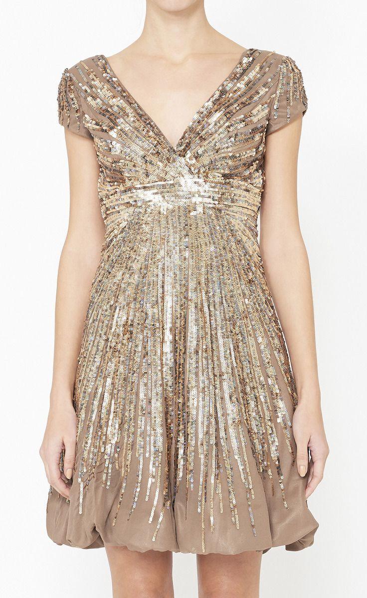къса официална златиста рокля за бал