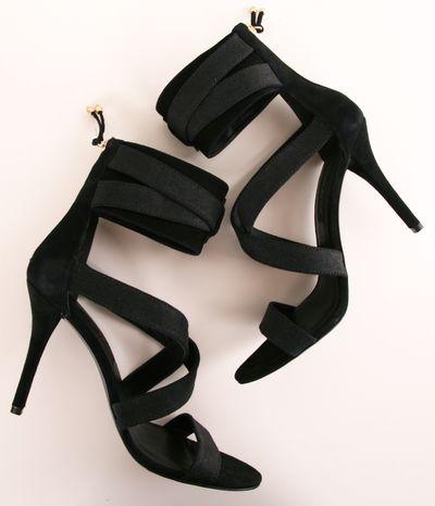черни официални сандали