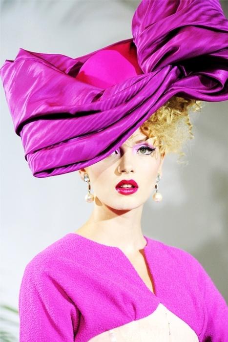 лилава шапка