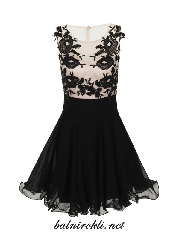 къса елегантна официална рокля