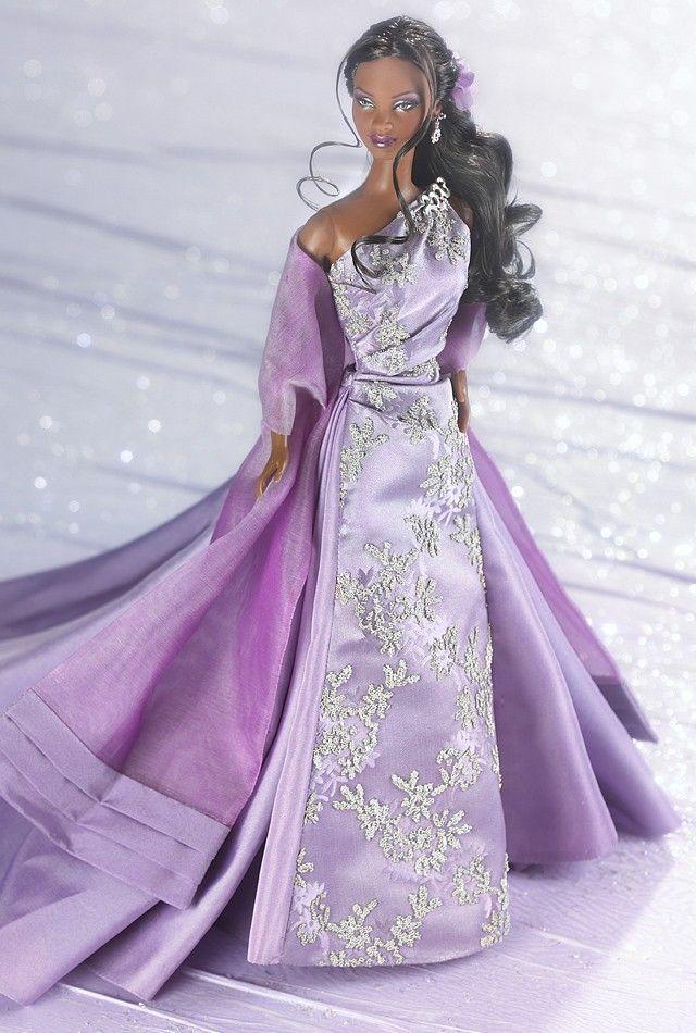 лилава вечерна рокля