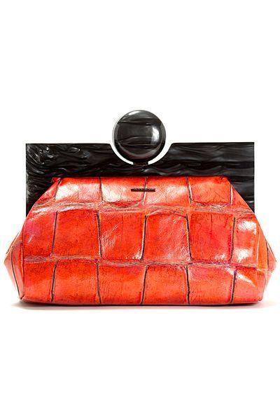 официална малка чантичка оранжево и черно