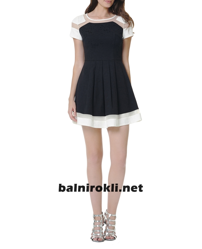 къса официална рокля 2015