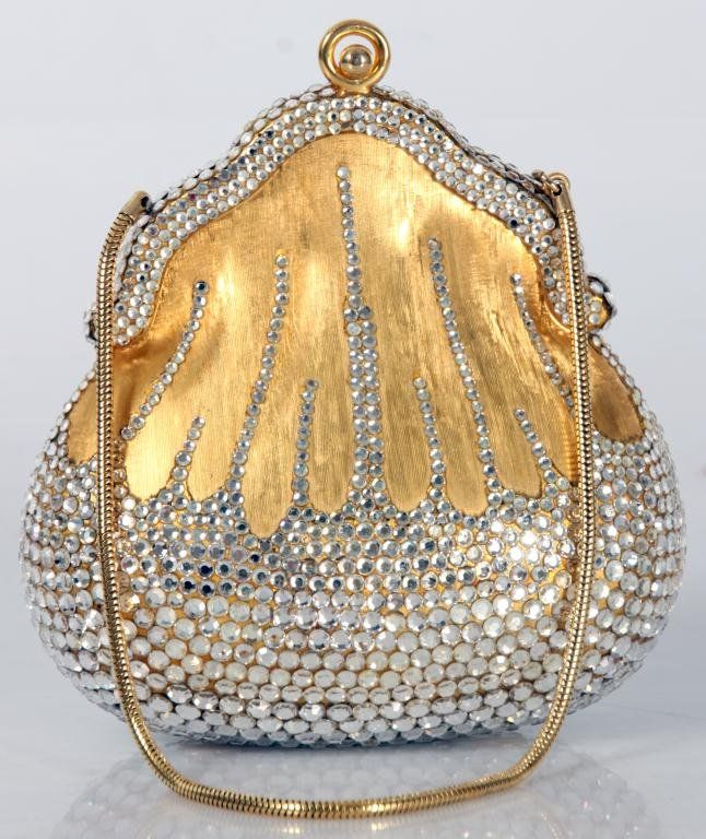 малка блестяща чантичка за бал