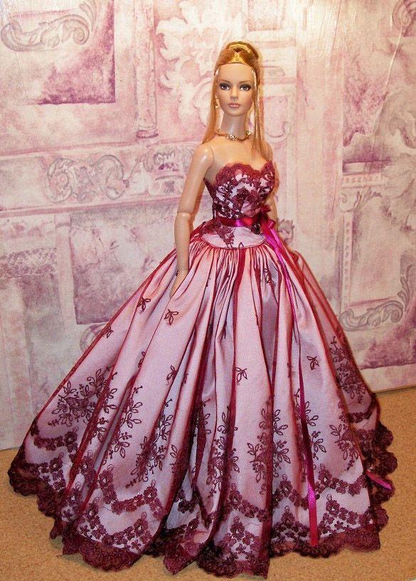 лилава дълга официална рокля