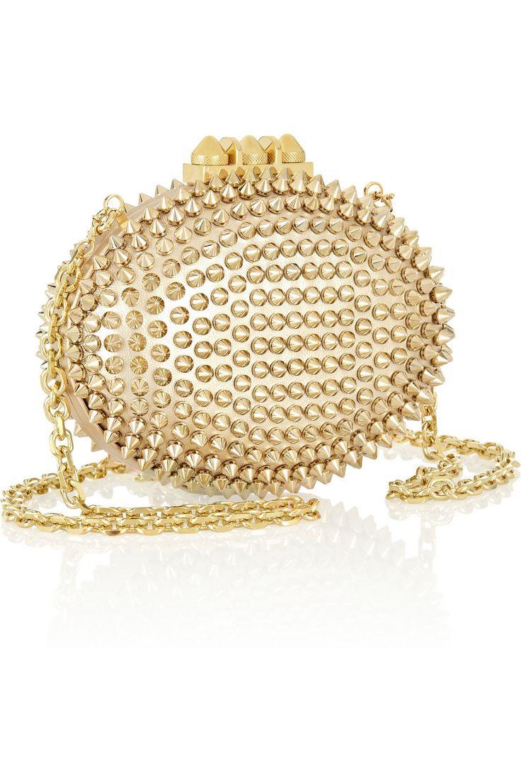златна бална чантичка