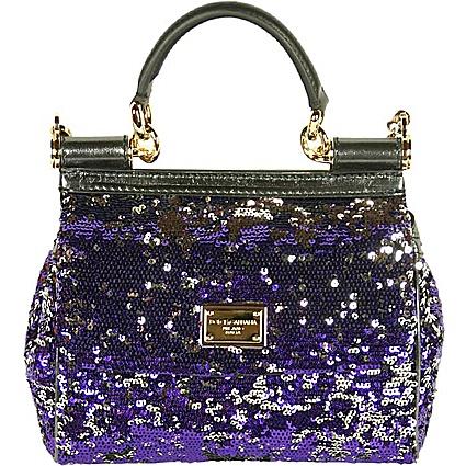 лилава официална чанта