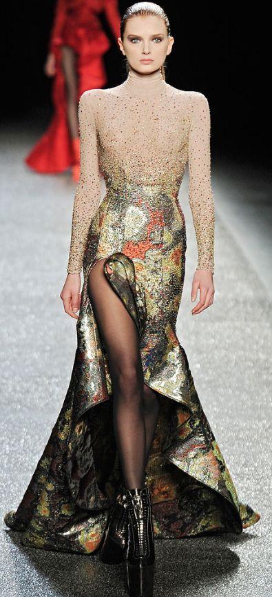 дълга бална рокля с цепка