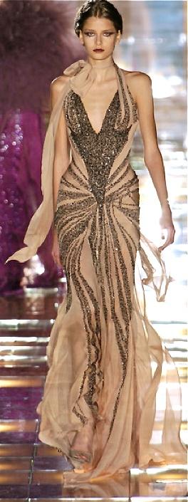 дълга рокля ретро стил