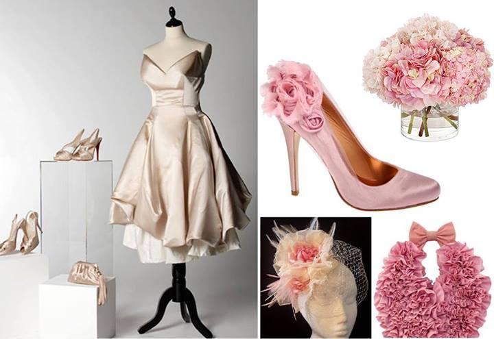 розови обувки с панделка