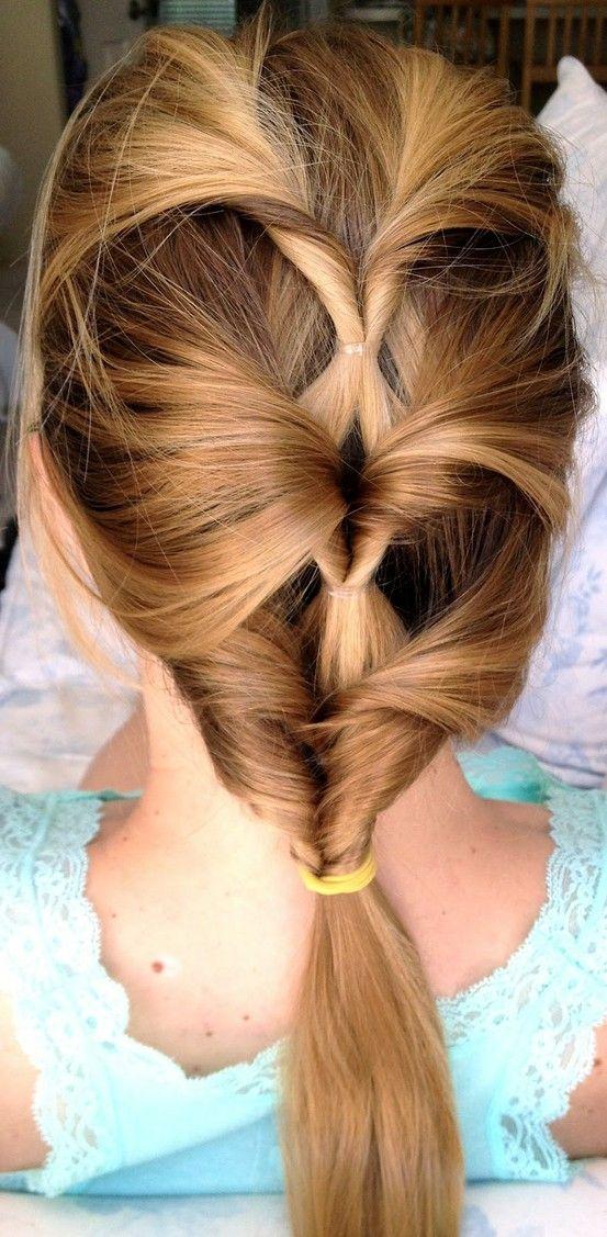интересно сплитане на косата