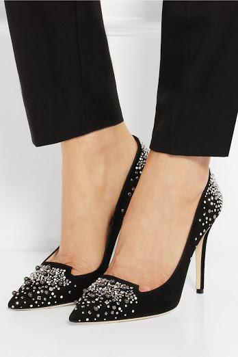 черни блестящи официални обувки