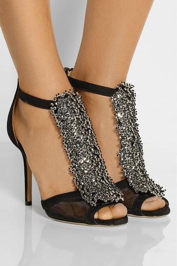 блестящи сандали