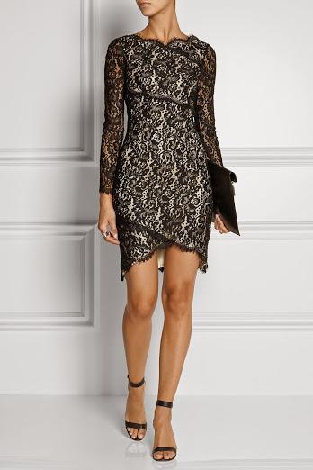 дантелена къса рокля