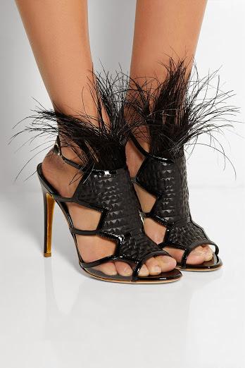 официални черни сандали 201