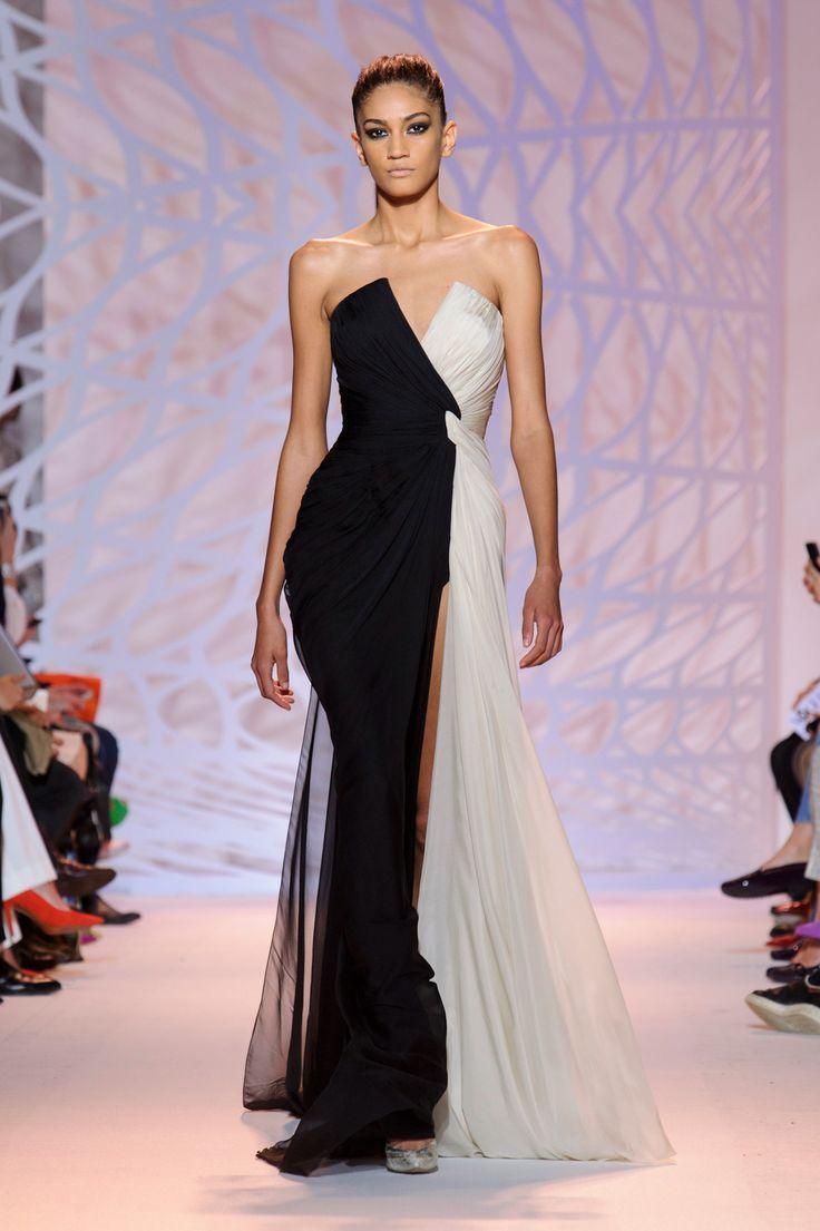 бална рокля бяло и черно