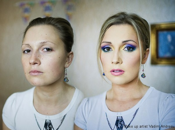Грим Вадим Андреев Преди и След