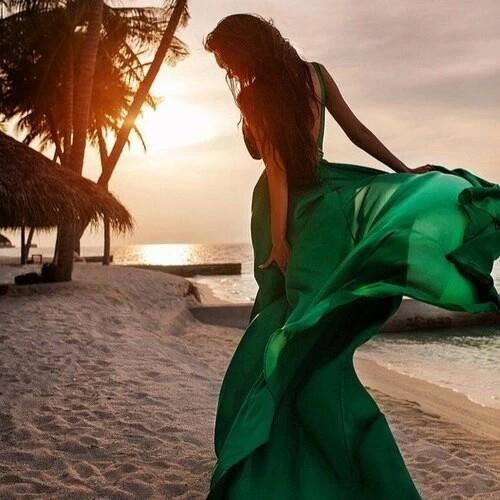 вечерна лятна рокля