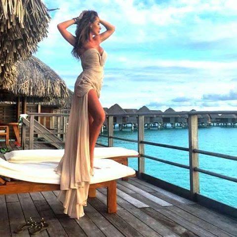 вечерна плажна рокля