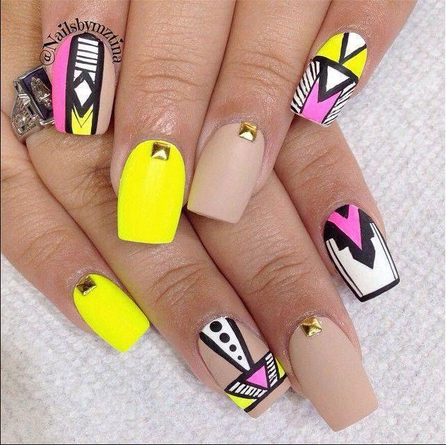 ярки летни нокти